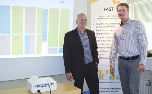 – Vi räknar med att FAST finns att avropa för de flesta kommuner redan under november månad, säger Petter Forss, VD på Avancit.