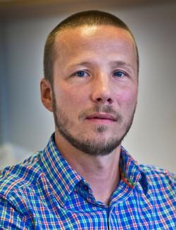 Thomas Molén, strateg för vård på distans vid e-hälsoenheten.
