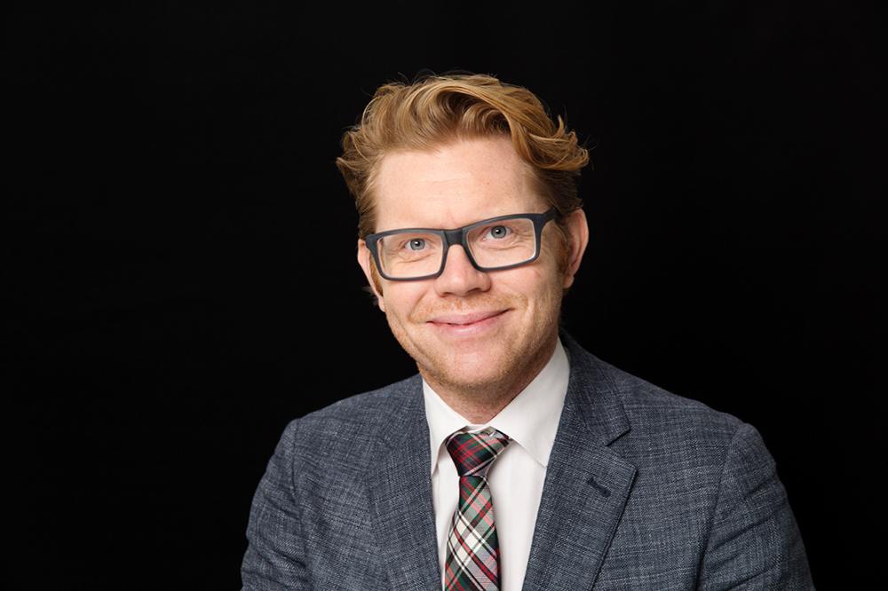 Jonas Gallon, e-hälsosamordnare på Region Skåne. Foto: Ola Torkelsson
