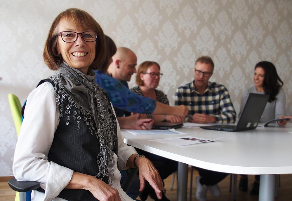 Elisabeth Olsson, kommunchef i Gullspångs kommun. Foto: Elin Asp