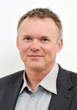 Torbjörn Larsson, ordförande för KommITS.