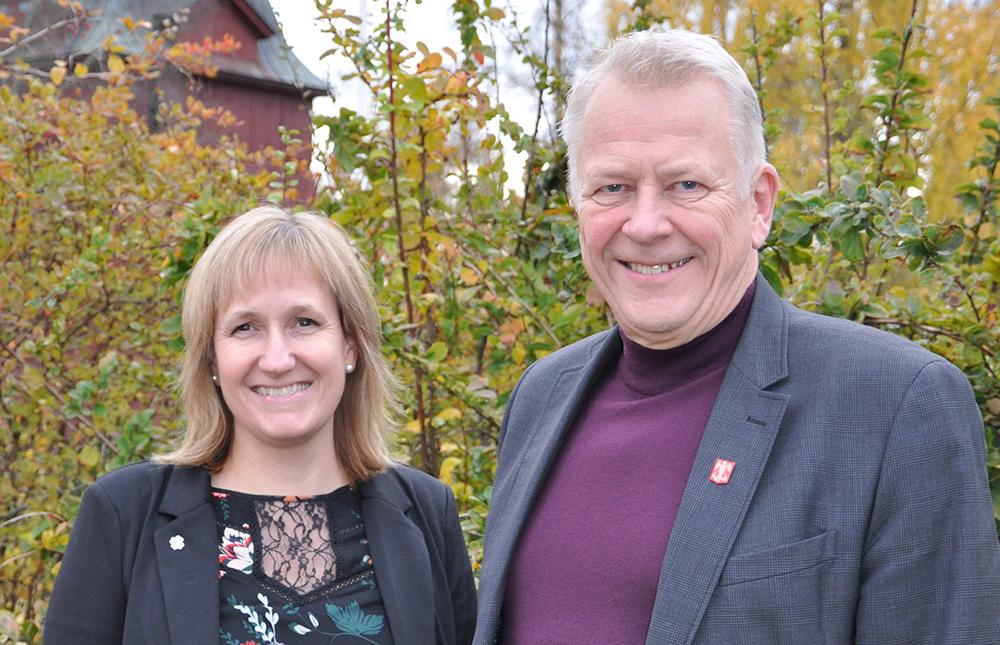 – Vi är glada över resultatet men fortsätter att jobba för ett ännu bättre företagsklimat i Mora, säger Anna Hed, kommunalråd och Peter Karlsson, kommundirektör i Mora.