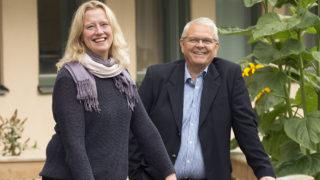 Karin Jonasson, handläggare och Rakelansvarig och Peter Forsström, chef för beredskapsfunktionen vid Länsstyrelsen i Dalarna. Foto: Per Eriksson