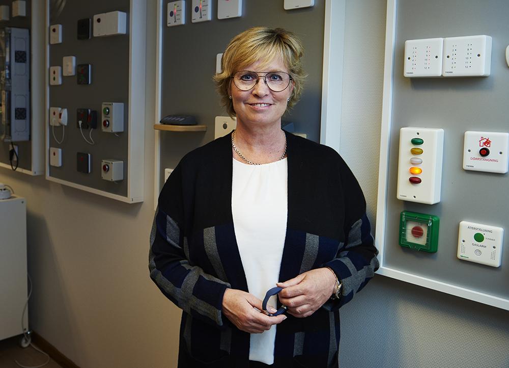 Marie Svensson, vd för Tjeders. Foto: Christian Rhen