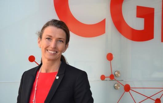 Julie Améen, ansvarig för offentlig sektor på CGI.