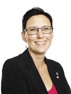 Helena Stenberg (S), kommunalråd i Piteå. Foto: Maria Fäldt