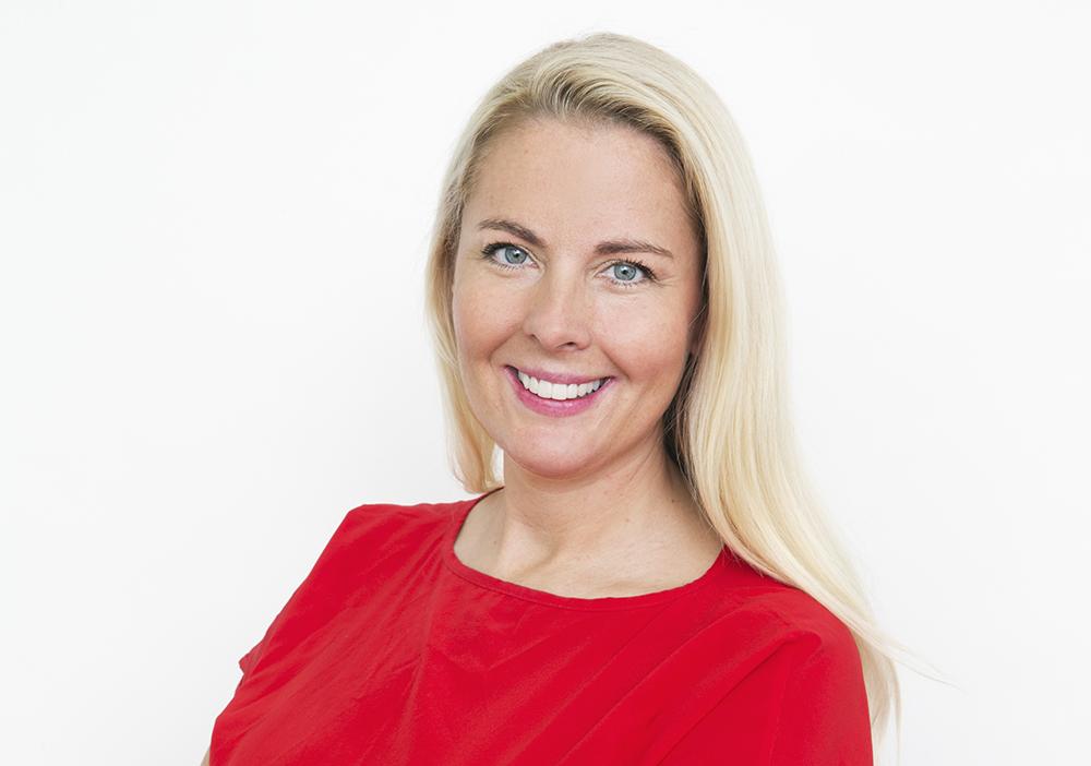 Ann Hellenius, it-direktör, Stockholms stad. Foto: Ester Sorri