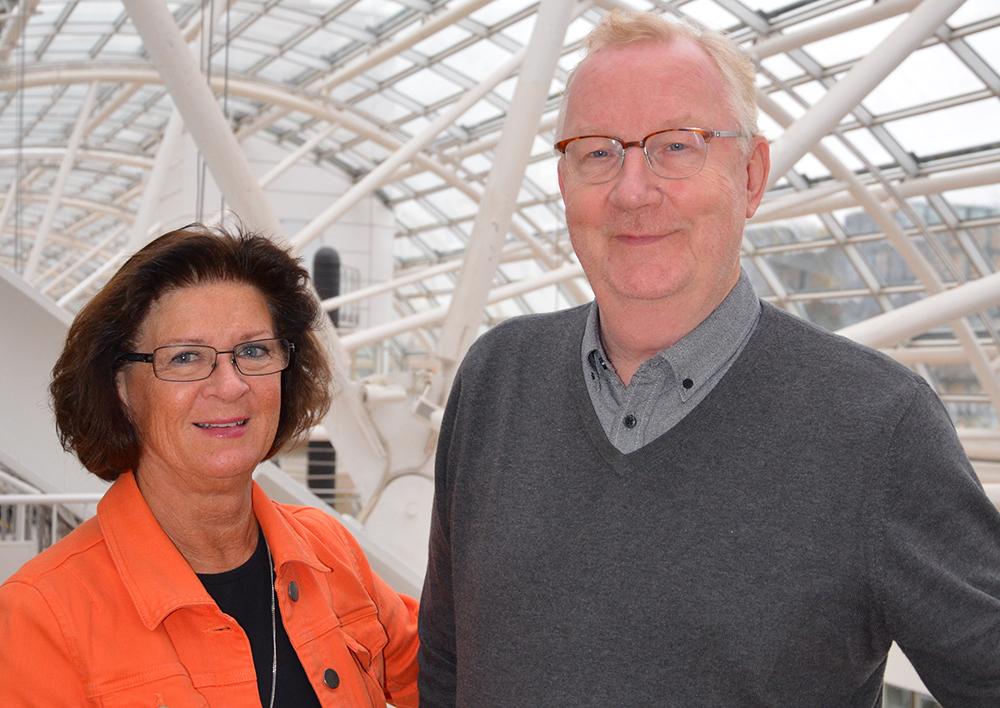 Monica Ericsson, VD för KFS och Markus Gustafsson, VD för Pacta.