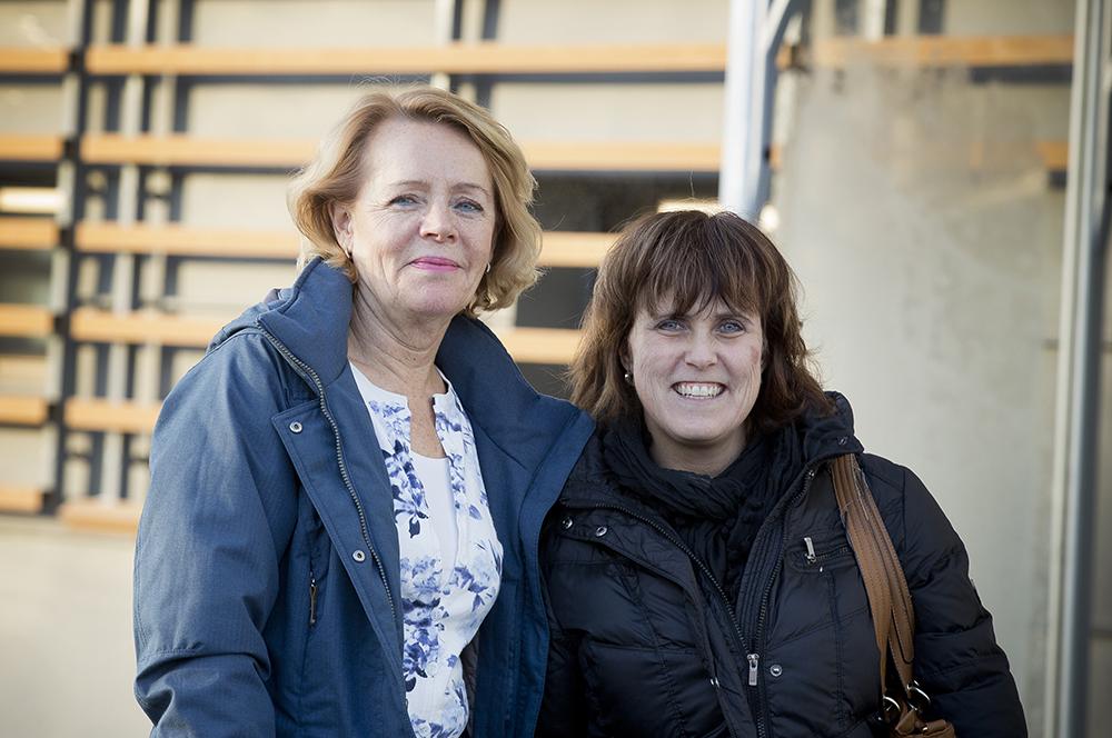 Marja-Leena Komulainen, Norrbottens Kommuner och Ingela Johansson, Region Norrbotten är projektledare för RemoAge. Foto: Viveka Österman