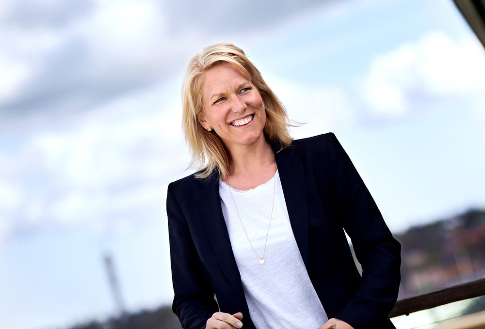 Åsa Zetterberg, sektionschef SKL:s avdelning för digitalisering. Foto: SKL