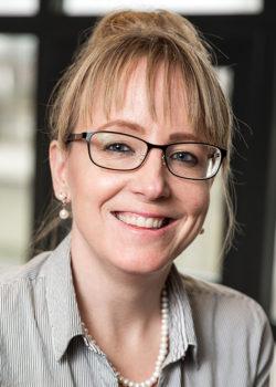 Lina Bårdskär Barba, andraspråkslärare på Sundsgymnasiet.