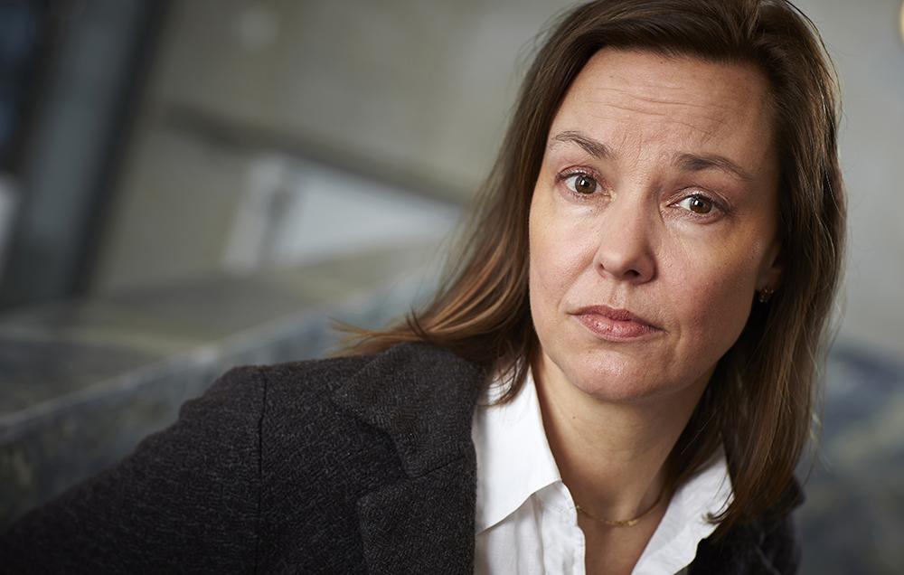 Anna Nergårdh, chefläkare Stockholms läns landsting. Foto: Fredrik Persson