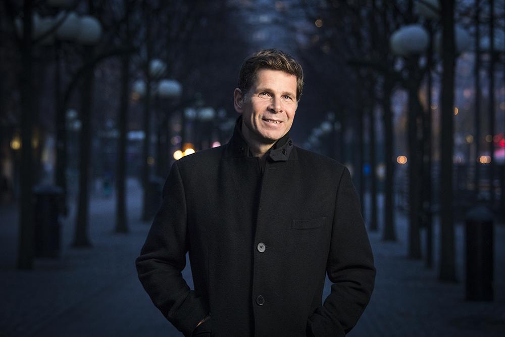 Johan Lundvall, VD för Colligio. Foto: Johan Marklund