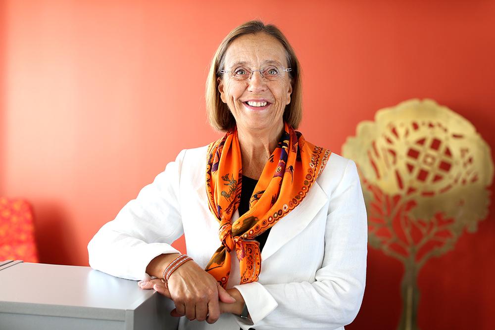 Lena Dahlstedt, stadsdirektör i Nacka kommun. Foto: Sören Andersson / Nacka kommun