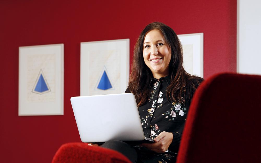Emma Hessbo, IT-projektledare, Karlskrona kommun. Foto: Jörgen Ragnarson