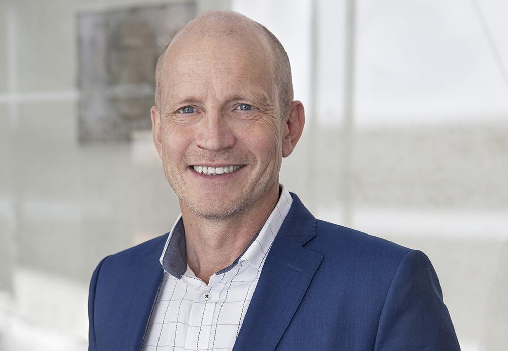 Per Spjut, ansvarig för pensionsstiftelser på Swedbank. Foto: Oda Hodlekve