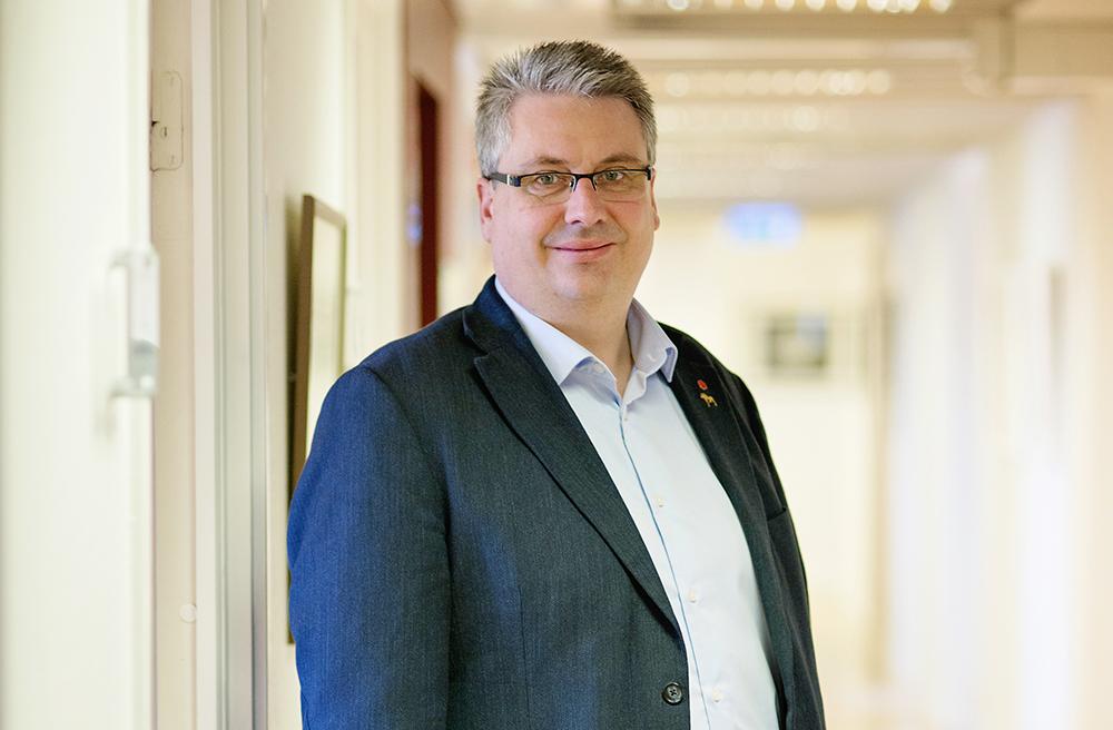 Hans Unander (S), kommunalråd och kommunstyrelsens ordförande i Malung-Sälen. Foto: Timea Hedlund