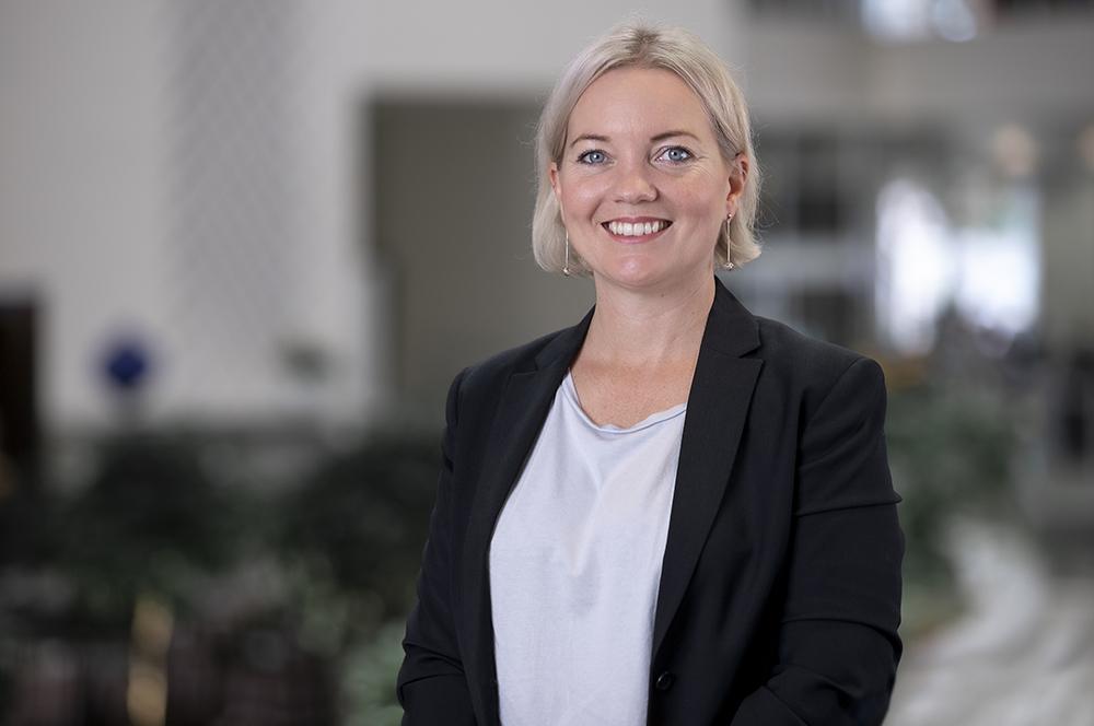 Anna Lirén, utvecklingsstrateg på Sobona. Foto: Henric Forsell