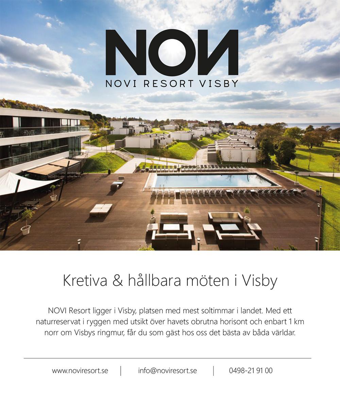 Annons. Kretiva och hållbara möten i Visby